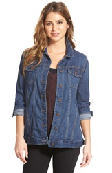 Cj By Cookie Johnson Long Denim Jacket Tansy