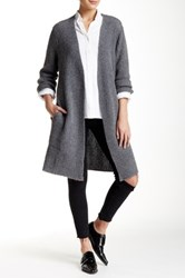 Trovata Long Cardigan Gray