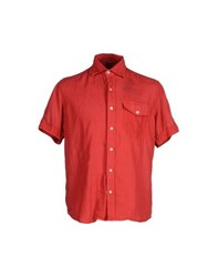 Napapijri Shirts Shirts Men Red