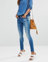 Only Lise Antifit Slouchy Jeans Blue