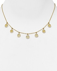 Anna Beck Mini Charm Necklace 16 Gold