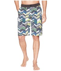 Kavu Dunk Tank Norhtwest Cut Shorts Multi