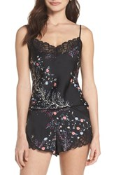 Josie Bardot Dreamland Short Pajamas Black Rose