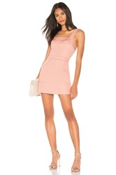 Amanda Uprichard Ace Dress Rose