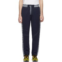 Missoni Navy And White Striped Lounge Pants