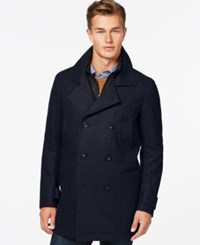 Marc New York Mulberry Wool Blend Coat