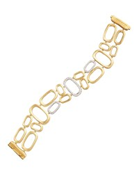 Murano 18K Brushed Gold And Diamond Bracelet Marco Bicego