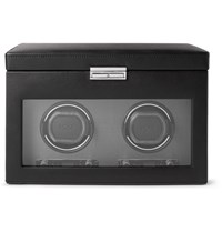 Wolf Viceroy Double Watch Winder Black