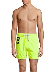 Superdry Miami Water Polo Textured Swim Shorts Green