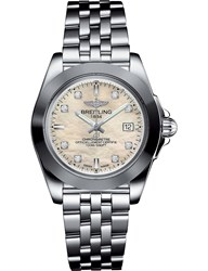 Breitling W7133012 A801.792A Galactic 32 Diamond And Stainless Steel Watch