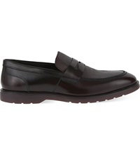 Kg By Kurt Geiger Sylvester Leather Loafers Wine