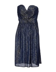 Les Prairies De Paris Dresses Short Dresses Women Dark Blue