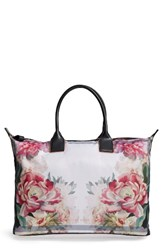Ted Baker London Large Painted Posie Tote Pink Baby Pink