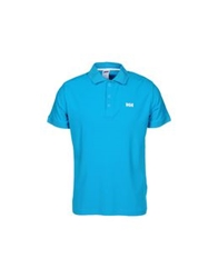 Helly Hansen Polo Shirts Turquoise
