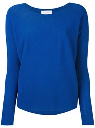 Christian Wijnants Long Sleeve Sweater Women Cotton Viscose M Blue