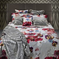 Roberto Cavalli Nobuyoshi Bed Set Grey