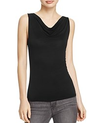 Project Social T Flawless Cowl Neck Tank Black