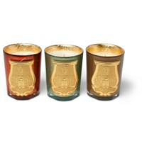Cire Trudon Gabriel Gaspard And Bethleem Scented Candle Set 3 X 100G Colorless