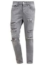 Religion Gore Relaxed Fit Jeans Glacier Grey Grey Denim