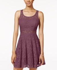 American Rag Lace Illusion Skater Dress Only At Macy's Renaissance