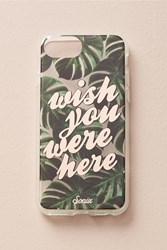 Anthropologie Sonix Wish You Were Here Iphone 6 7 Case Green