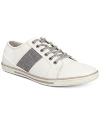 Unlisted By Kenneth Cole Men's Crown Low Top Sneakers Men's Shoes White