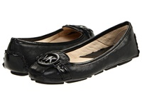 Michael Michael Kors Fulton Moccasin Black Leather Women's Slip On Shoes