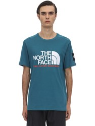The North Face Fine 2 Cotton Jersey T Shirt Petrol