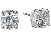 Lauren Ralph Lauren Large Cubic Zirconia Stud Earrings Silver Crystal Earring