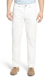 Peter Millar Men's Stretch Sateen Five Pocket Pants Perfect White