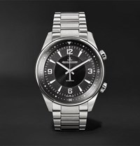 Jaeger Lecoultre Polaris Automatic 41Mm Stainless Steel Watch Black