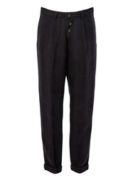 Individual Sentiments Pleated Trousers Black