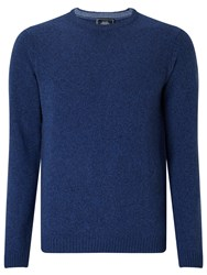 John Lewis Made In Italy Merino Cashmere Crew Neck Jumper Navy