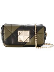 Sonia Rykiel Mini Quilted Crossbody Bag Black