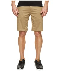 Publish Kamron Twill Shorts Khaki Men's Shorts
