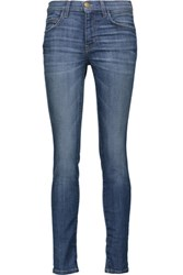 Current Elliott The High Waist Skinny Jeans Mid Denim