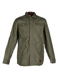 Vans Coats And Jackets Jackets Men Military Green