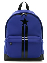 Givenchy Star Print Backpack Pink And Purple