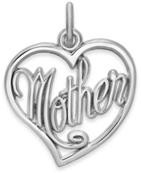Rembrandt Charms Sterling Silver Mother Charm