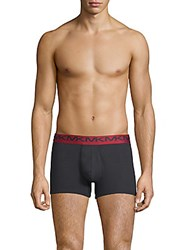 Michael Kors Three Pack Modern Fit Cotton Boxer Briefs Heather