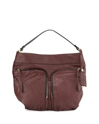 Cassey Lam Leather Hobo Brown Oryany Espresso