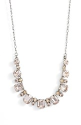Sorrelli Divide And Conquer Crystal Necklace Pink