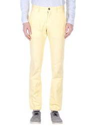 Incotex Trousers Casual Trousers Men Yellow