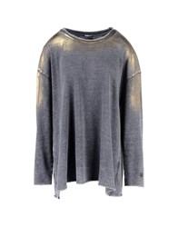 Dimensione Danza Topwear Sweatshirts Women Grey