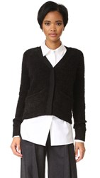 Baldwin Denim Effie Cropped Cardigan Black