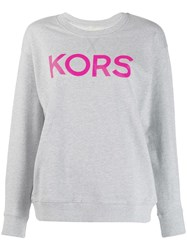 Michael Kors Collection Classic Logo Sweatshirt Grey
