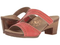Aetrex Lillian Coral Women's Wedge Shoes