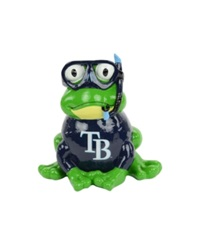 Forever Collectibles Tampa Bay Rays Frog Figure Navy