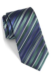 Men's Bugatchi Stripe Silk Tie