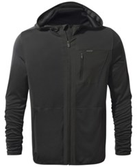 Craghoppers Nosilife Elgin Hooded Jacket From Eastern Mountain Sports Black Pepper